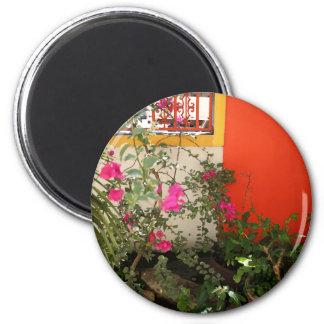 Belizian Blüte Runder Magnet 5,1 Cm