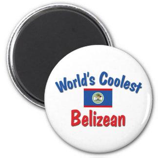 Bélizien le plus frais magnet rond 8 cm