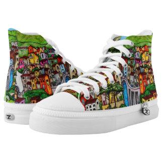 Bella Guardia Hoch-geschnittene Sneaker