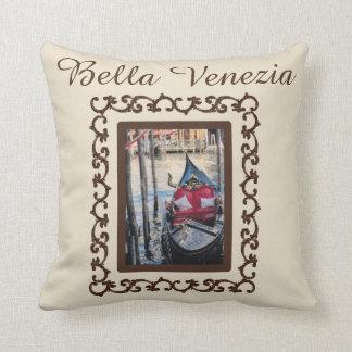Bella Venezia Gondel-Italien-Andenken Kissen