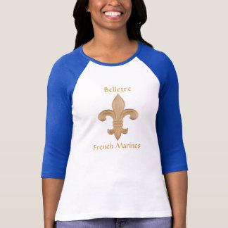 Belletre französische Marinedamen Jersey T-Shirt