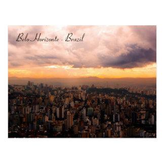 Belo Horizonte - Brasilien Postkarte