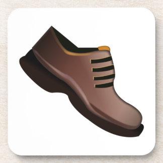 Bemannt Schuh - Emoji Getränkeuntersetzer