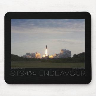 Bemühung der Raumfähre-STS-134 Mauspads