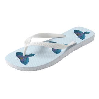 Bemühungs-Papagei Flip Flops