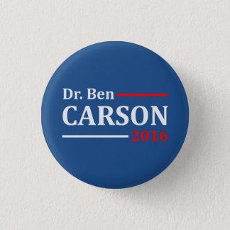 Ben Carson 2016 Runder Button 2,5 Cm