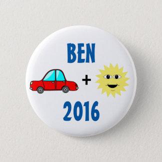 Ben Carson 2016 Runder Button 5,7 Cm