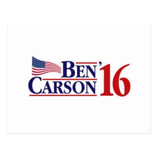 Ben Carson für Präsidenten Postkarte