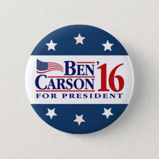 Ben Carson für Präsidenten Runder Button 5,7 Cm