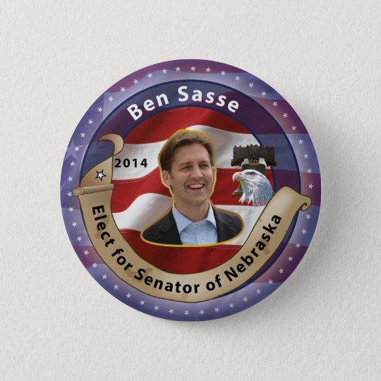Ben Sasse Runder Button 5,1 Cm