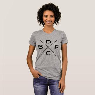 Benchdogs der kundenspezifischen das Quert-shirt T-Shirt