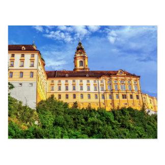 Benediktinerabtei, Melk, Österreich Postkarte