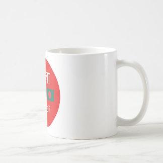 Bengali-Sprachentwurf Kaffeetasse