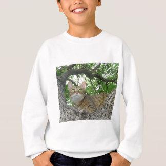 Bengalische Katze im Baum Sweatshirt