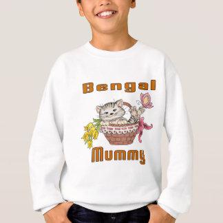 Bengalische Katzen-Mamma Sweatshirt