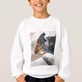 Bengalische Tiger-Liebe Sweatshirt