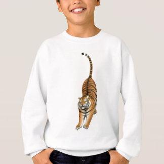 Bengalischen Tiger ausdehnend, scherzt Sweatshirt