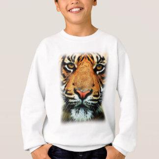 Bengalischer Tiger-große Katze Sweatshirt