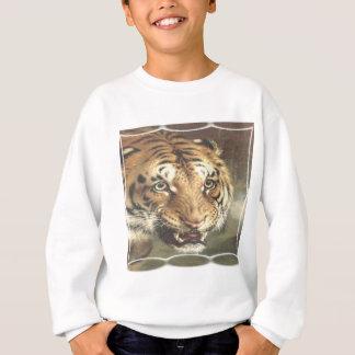 Bengalischer Tigerkönig und -kontrolleur Sweatshirt