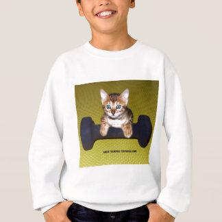 bengalisches Kätzchentrainieren Sweatshirt