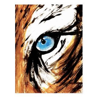 Bengalisches Tiger-Auge Postkarte