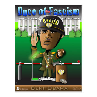 Benitobama Duce Postkarten