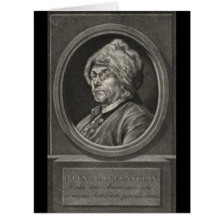 Benjamin Franklin 1780 Karte