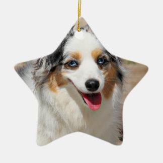 Bennett - australisches Mini - Rosie - Carmel Keramik Stern-Ornament