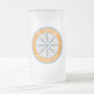 Benutzen Sie Ihren Kopf Mattglas Bierglas