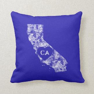 Benutztes i-Liebe-Kalifornien-Staatthrow-Kissen Kissen
