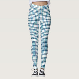 Bequemer Pyjama-kariertes Muster Leggings