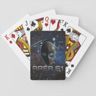 Bereich 51 spielkarten