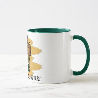 Bereiten Sie für Abenteuer vor Tasse