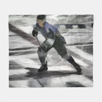 Bereiten Sie für den Kobold-Eis-Hockey-Spieler vor Fleecedecke