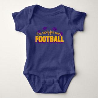 Bereiten Sie für Fußball vor! Baby Strampler
