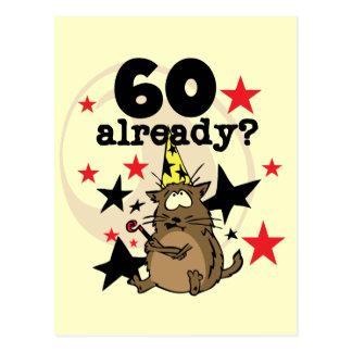 Bereits Geburtstag 60 Postkarte