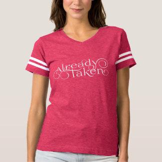 """""""Bereits genommenes"""" romantisches T-shirt"""