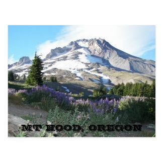 Berg-Haube, Oregon-Reise Postkarte
