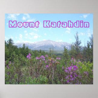 Berg Katahdin Poster