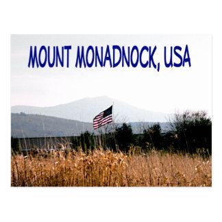 Berg Monadnock USA Postkarte