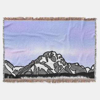 Berg Moran Gebirgsillustration Decke