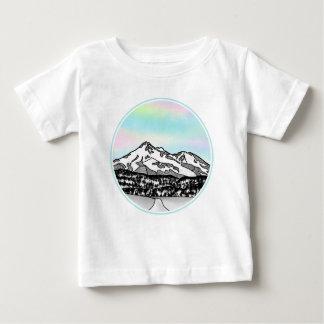 Berg Shasta Landschaftsillustration Baby T-shirt