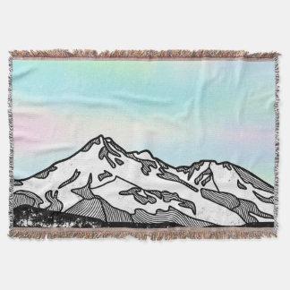 Berg Shasta Landschaftsillustration Decke