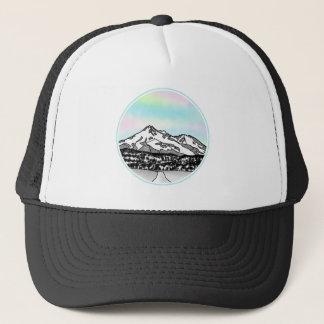 Berg Shasta Landschaftsillustration Truckerkappe