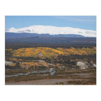 Berg Wrangell Postkarte