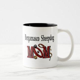 Bergamasco Schäferhund-Mamma-Tasse Zweifarbige Tasse