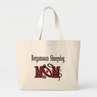 Bergamasco Schäferhund-Taschen-Tasche Jumbo Stoffbeutel
