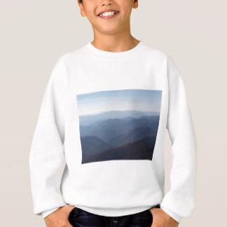 Berge der blauen Kante Sweatshirt
