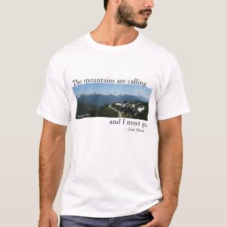 Berge nennen - Licht T-Shirt