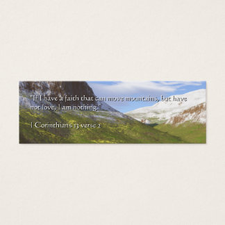 Berge von Glauben | Terragen Mini Visitenkarte